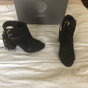 Vince Camuto Black booties.
